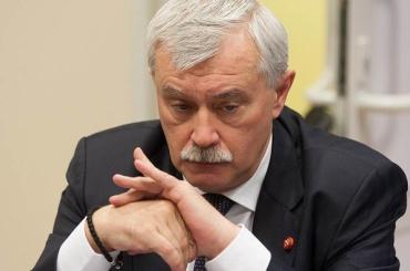 Доходы Полтавченко за год снизились на 1 млн рублей