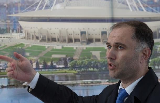 Миллер назвал завистью критику нового стадиона вПетербурге