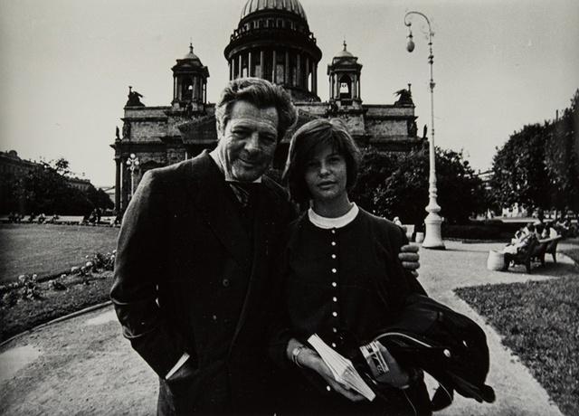 _Николай Гнисюк. Марчелло и Кьяра Мастроянни. Из серии «Отцы и дети»,  1990