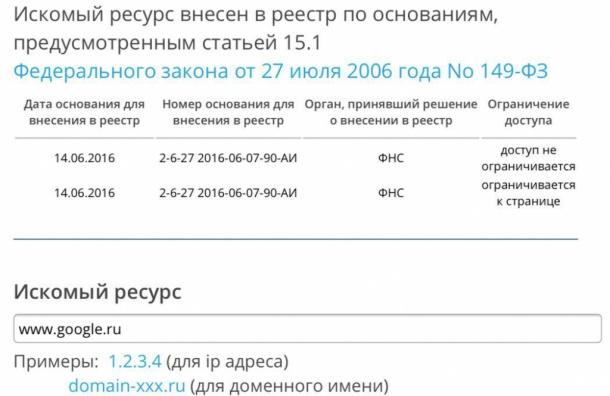 Роскомнадзор начал блокировку Google в России