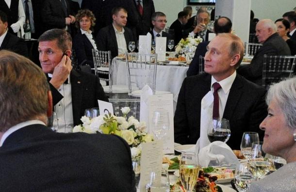 Путин рассказал о встрече с Майклом Флинном в 2015 году