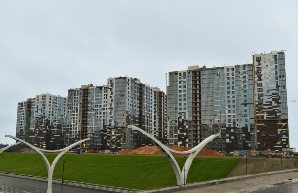 Замесяц вПетербурге ввели 187 тыс. кв. м .жилья