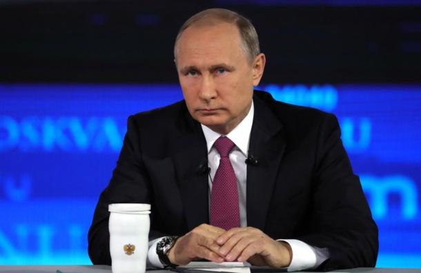 Путин попросил не терять больную раком девушку надежды