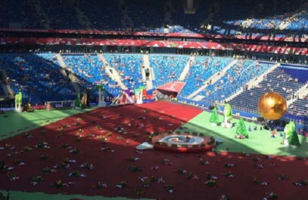 Церемония открытия Кубка конфедераций началась в Петербурге