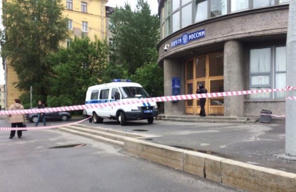 Полиция закрыла почтовое отделение на Стачек