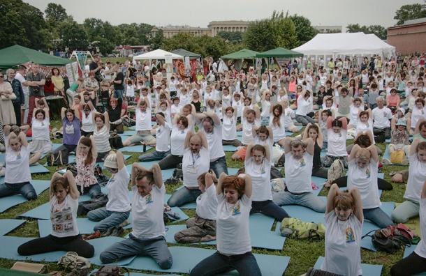 В Петербурге пройдет йога-марафон