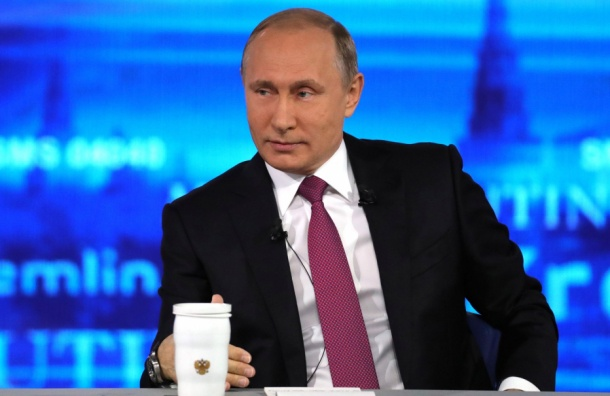 Путин: у меня недавно родился второй внук