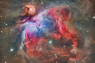 Ученые заглянули внутрь туманности Ориона
