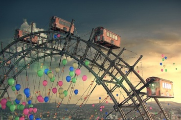 Колесо обозрения высотой в 170 метров могут построить в Петербурге