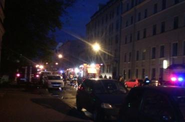Квартира сгорела в Центральном районе