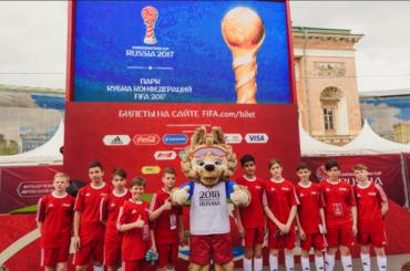 «Кожаный мяч» исполняет мечты юных футболистов