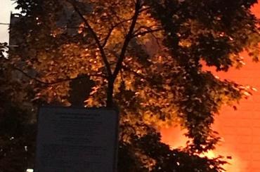 Очевидцы: слышны взрывы на помойке в Купчино