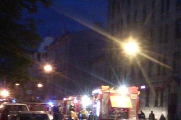 Один человек погиб в пожаре в Центральном районе