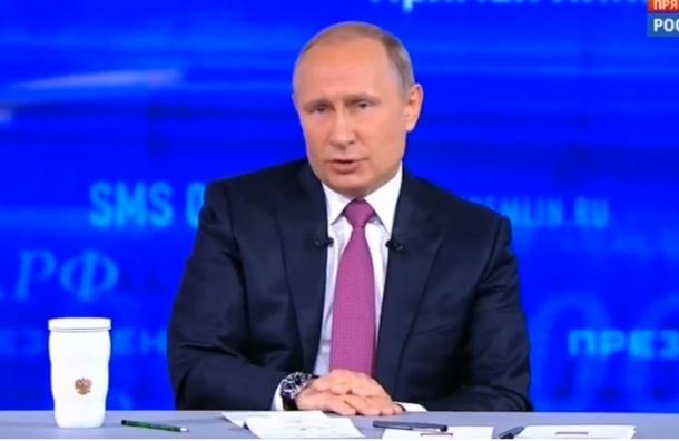 Путин ответил Порошенко про «немытую Россию»