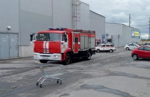 «К-Рауту» в Стрельне эвакуировали
