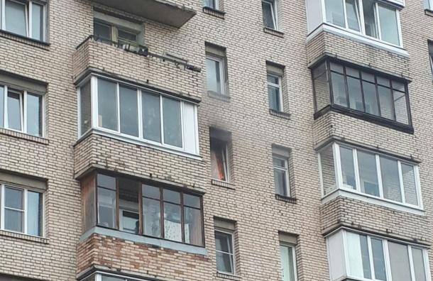 Пожарные тушили квартиру в доме на Партизана Германа