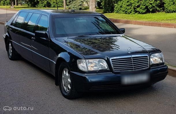 Бронированный Mercedes Бориса Ельцина выставили на продажу
