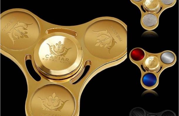 Золотой спиннер ценой в миллион изготовили в России