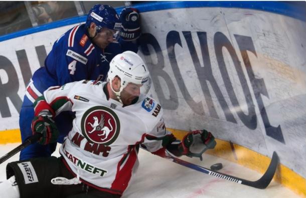 «Ак Барс» в серии буллитов обыграл петербургский СКА