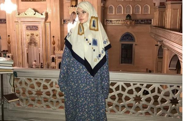 Дочь пресс-секретаря Путина облачилась в хиджаб