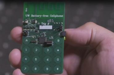 Ученые изВашингтона изобрели первый телефон без батареи