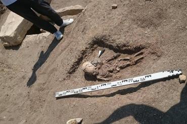 Сильно вытянутый череп младенца обнаружили вКрыму