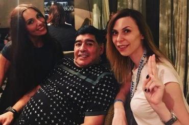 Марадона оказался в центре сексуального скандала в Петербурге