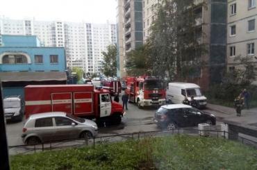 Очевидцы: есть погибшие при пожаре в доме на Комендантском