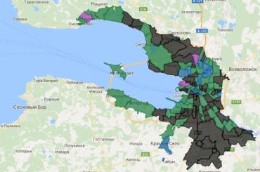Треть муниципалитетов Петербурга скрывают доходы