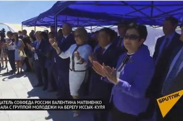 Танец Валентины Матвиенко восхитил пользователей Сети