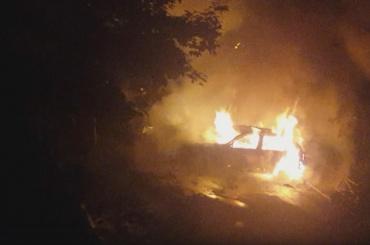 Шесть иномарок горели в Купчино