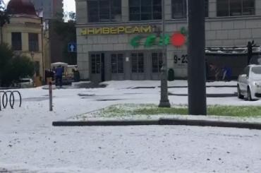 Зима пришла в Петербург