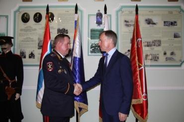 Начальника петербургского Главка наградили орденом «Зазаслуги перед Отечеством»
