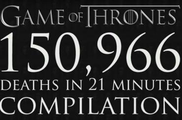 Почти 160 тысяч смертей насчитали в«Игре престолов»