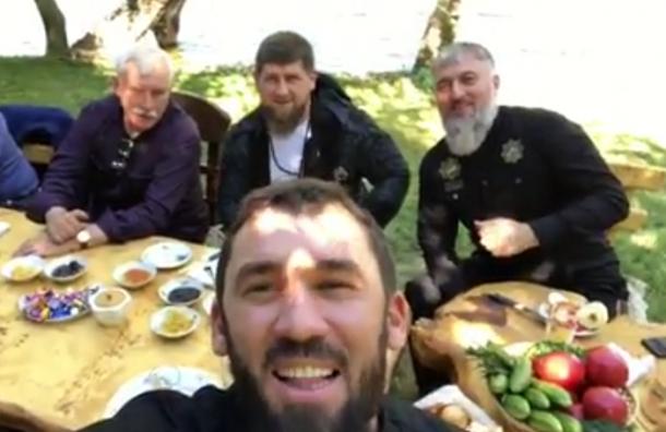 Кадыров объяснил, какой «Ахмат» поддержал Георгий Полтавченко