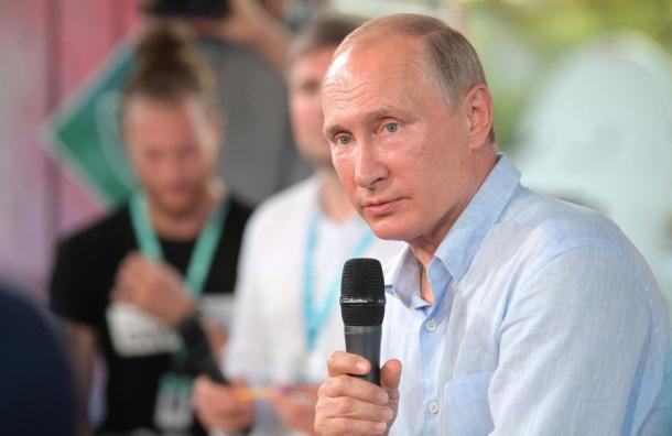 Путин предложил СМИ подумать оцензуре