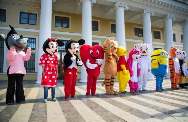 Vежегодный городской фестиваль ростовых кукол «Союз мультфильмов»