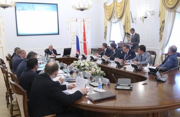 Полтавченко требует ускорить строительство метро вПетербурге