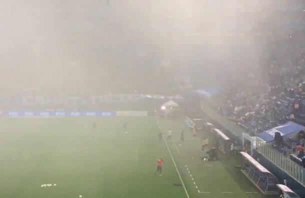 Вишневский спросил Албина окрыше стадиона наКрестовском