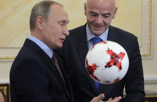Путин отказался возглавить сборную России по футболу