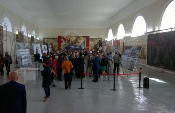 Выставка проектов Музея блокады стартовала в Конюшенном ведомстве