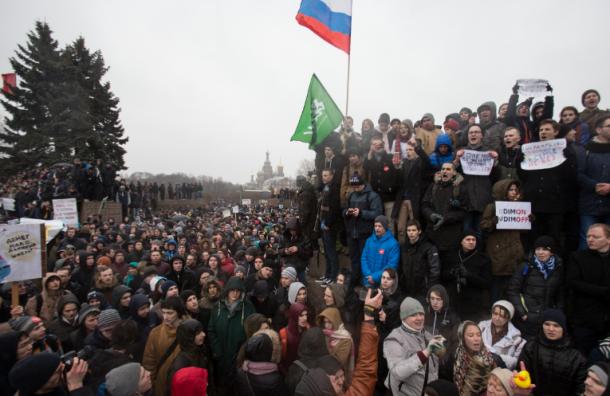 Вишневский просит власти определить для гайд-парк площадь в центре Петербурга
