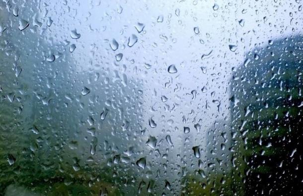 Пятница подготовила петербуржцам дождь и грозу