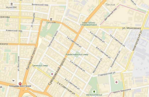 Советские улицы в центре Петербурга переименуют