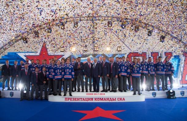 Обновленный состав СКА представили в Петербурге