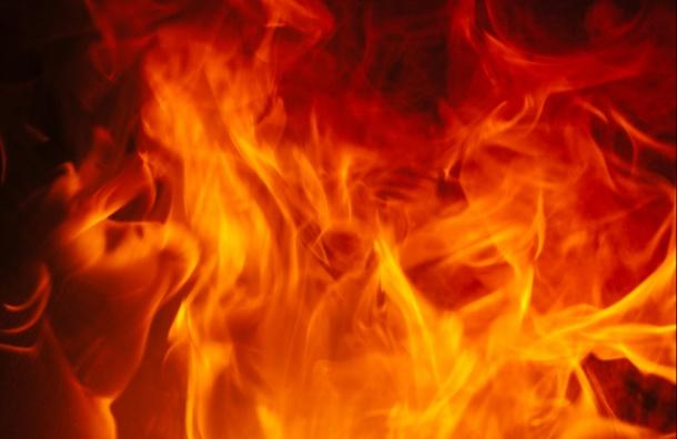 ВПетербурге тушили пожар наулице Большой Разночинной