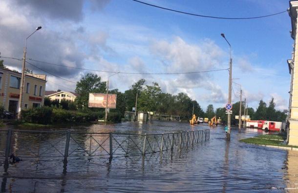 ВСанкт-Петербурге выпало рекордное количество осадков запоследние сутки
