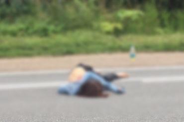 Девушку насмерть сбили наКрасносельском шоссе