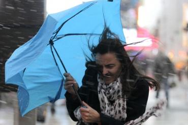 Выходные в Петербурге будут дождливыми и ветреными