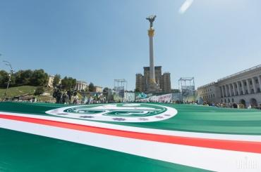 Акция вподдержку чеченских сепаратистов прошла вКиеве